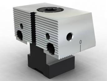 SVF-ABG03齿面单斜 固定钳口组