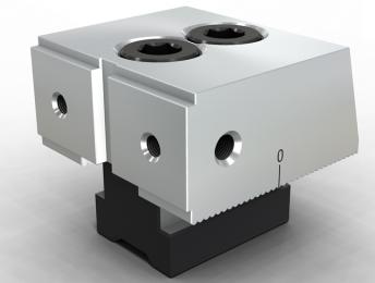 SVF-ABS02强力段差 单斜固定钳口组