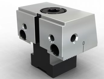 SVF-ABS03段差单斜 固定钳口组